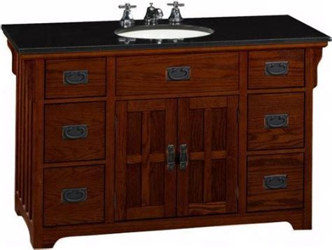 craftsman style bathroom vanity craftsman bathroom vanity american craftsman vanity