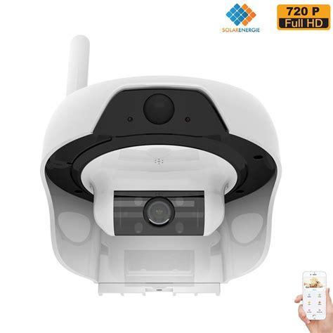 waterproof ip freecam solar powered wireless wifi 720p waterproof