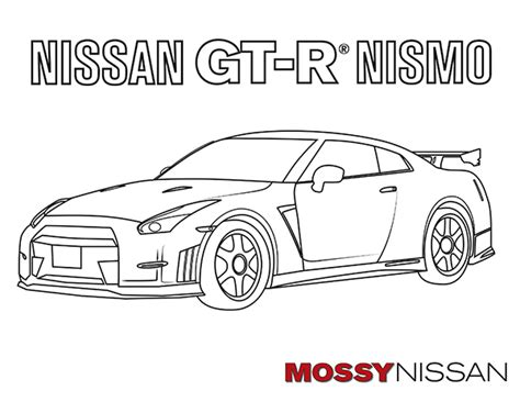 nissan cars coloring pages nissan coloring pages coloring nissan r35 gtr coloring gt r pages grig3 org