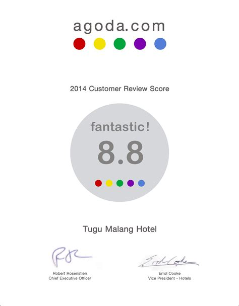 agoda twitter hotel tugu malang 2014 customer review from agoda what s