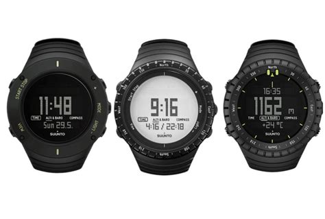 Suunto Digital Jam Tangan Outdoor Sunto Alarm Stopwatch Bagus Ok suunto outdoor altimeter barometer hiking compass sports ebay