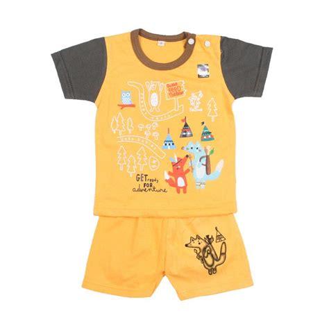 Baju Anak Kuning jual uaka baby uk 412141 oblong setelan baju bayi laki laki kuning harga kualitas