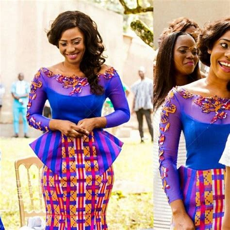 sewing kente styles lady for the and style on pinterest