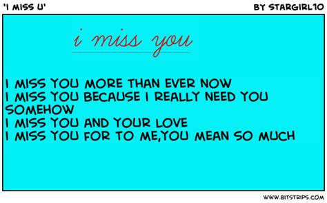 i miss you so much love poems from the heart i miss u bitstrips