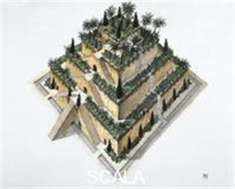 i giardini pensili di babilonia versione scala archives collezione illustrazioni