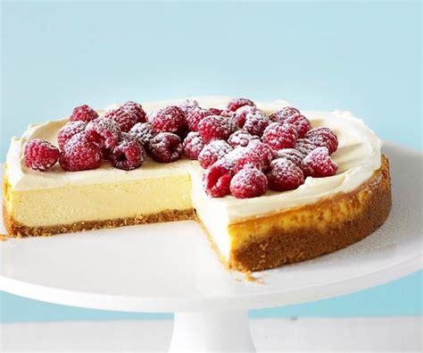 recipes with raspberries vanilla cheesecake with raspberries recipe food to love