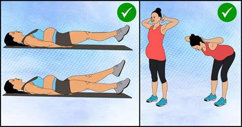 safe abdominal ab exercises  perform  pregnancy