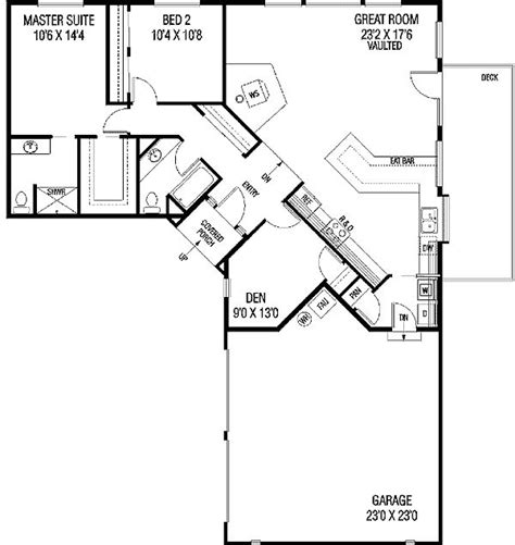 l shaped 3 bedroom house plans 25 best ideas about l shaped house on pinterest