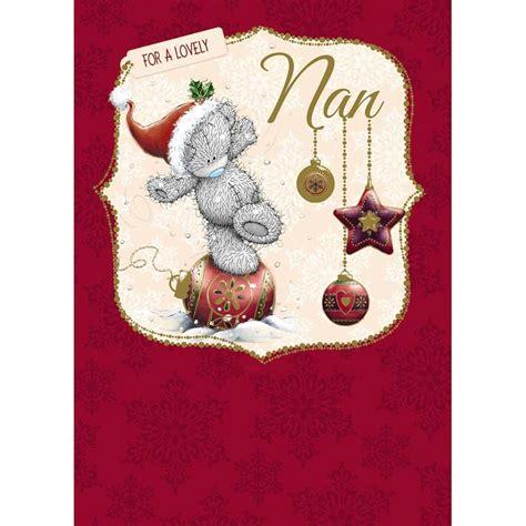 nan nanna nanny me to you bear christmas cards ebay
