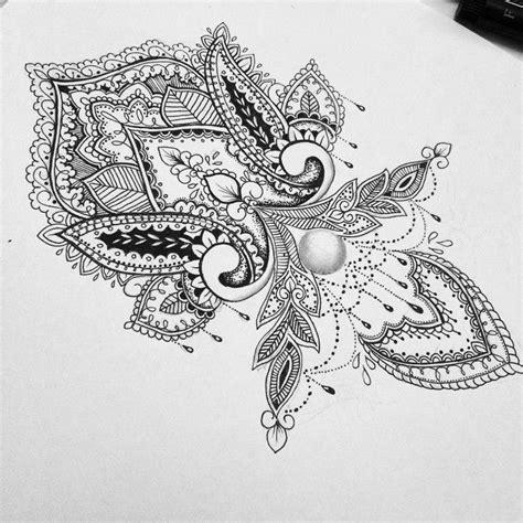 mandala tattoo long very beautiful and intricate love the little hanging
