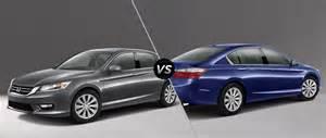 Honda Ex L 2015 2015 Honda Accord Ex Vs 2015 Honda Accord Ex L