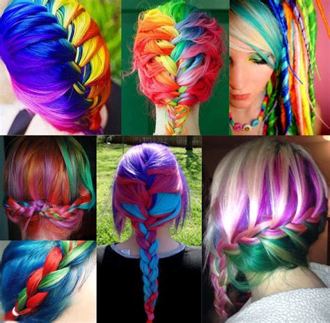 rainbow hairstyles games beautiful rainbow hair pictures photos and images for
