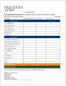 Seller S Net Sheet Free Template Tips From The Pros Seller S Net Sheet Template
