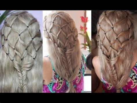 Net Hairstyle by Fish Net Fish Braid The Hobbits Inspired Hairstyle