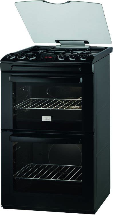 Dapur Gas Oven Zanussi buy zanussi zcg551gnc gas cooker with oven black marks electrical