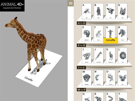 Animal 4d Alphabet Card Media Belajar Anak animal 4d android apps on play