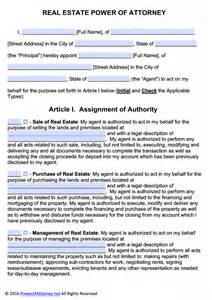 power attorney template free power of attorney templates in fillable pdf format