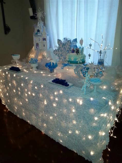 winter themed table decorations winter tablecloth ideas the bright ideas