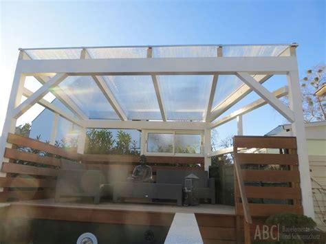 terrassendach freistehend aluminium terrassendach alu holz freistehend