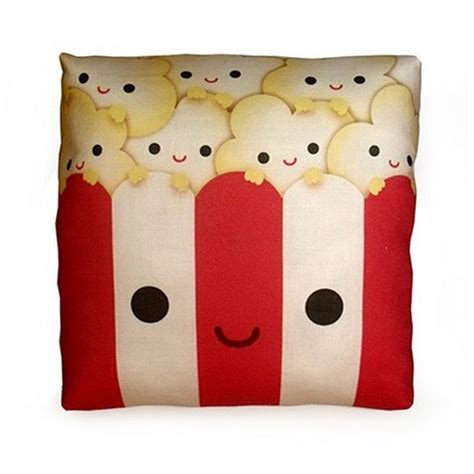 beautiful pillows shaped like junk food