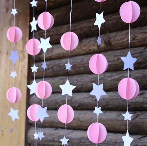 Baby Shower Hanging Decorations by Aliexpress Buy Pink Baby Shower Diy Baby Shower