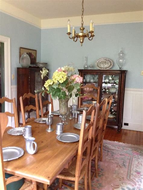 my fresh quot new quot dining room paint color sherwin williams 6225 sleepy blue so soothing and