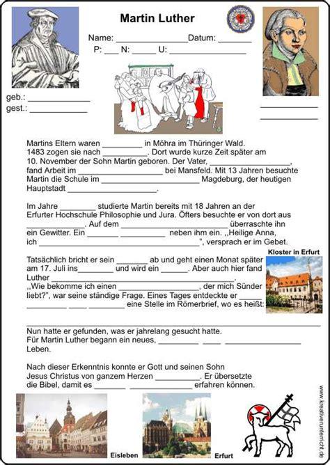 Martin Luther Lebenslauf Bilder Martin Luther Lebenslauf