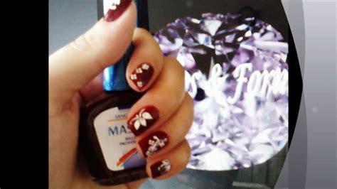 imagenes de uñas en blanco y rojo dise 241 os en u 241 as cortas blanco rojo wmv youtube