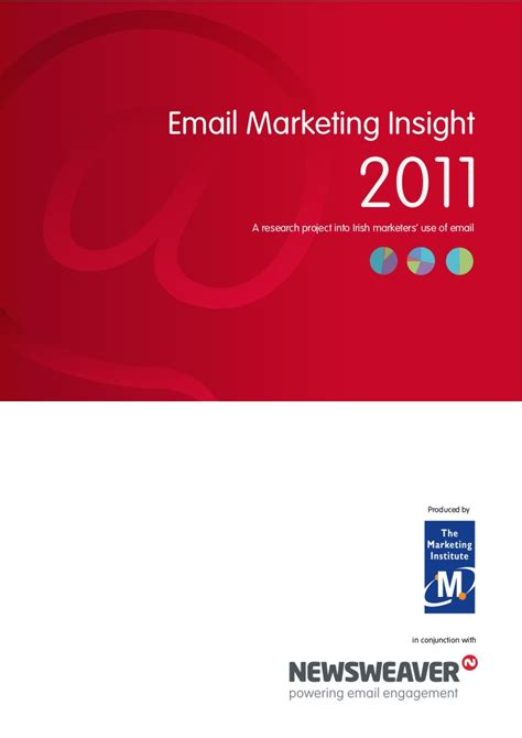 newsweaver email marketing insight report 2011