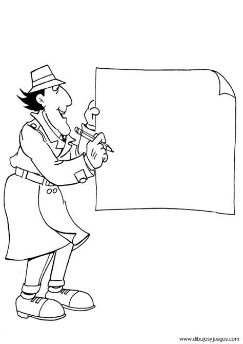 imagenes animadas inspector gadget inspector gadget 011 dibujos y juegos para pintar y