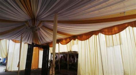 Tenda Rumah Big siap siap dinikahi putra jokowi rumah selvi berhias tenda