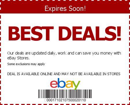 ebay coupon ebay coupon codes save w 2015 coupons deals