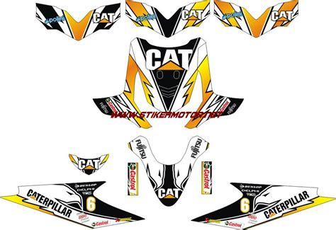 Striping Honda Beat Fi Batik Mega Mendung modifikasi motor cutting sticker striping motor