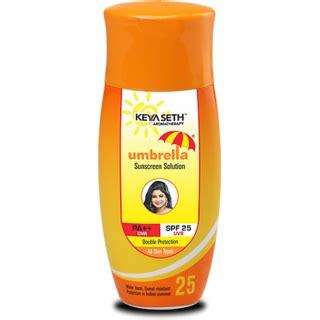 Parasol Spf 30 Sun Screen Lotion Sun Block keya seth umbrella sunscreen spf 25 buy keya seth umbrella sunscreen spf 25 at best