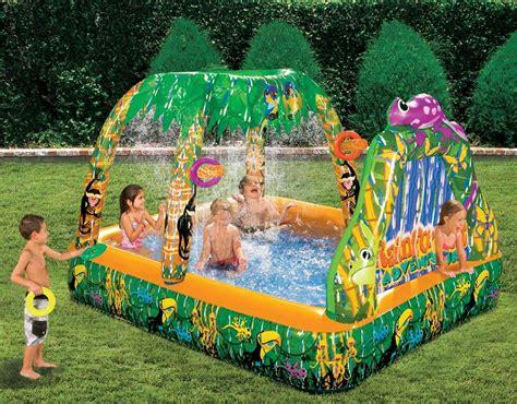 water swimming pool backyard garden forest