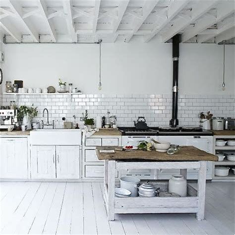 industrial country kitchen farm fresh style pinterest