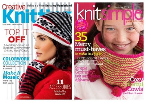 Knitting Giveaway - giveaway winter knitting magazines knitting