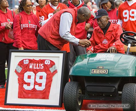 ozone ohio state fan forum ol dl bill willis osu of fame cfb of fame nfl