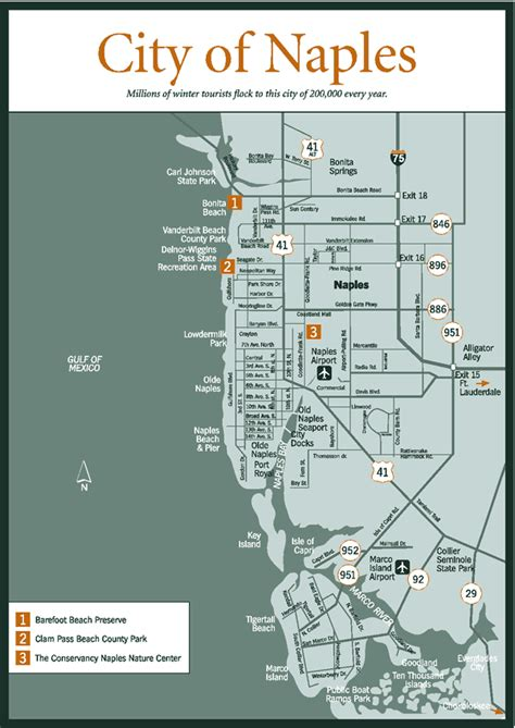 naples florida map sherpa guides florida florida everglades naples city