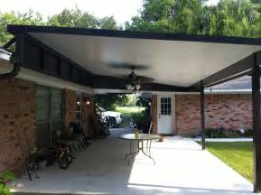 insulated patio elevated roof