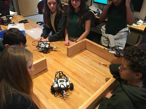 the unquowa school programming robots to work autonomously