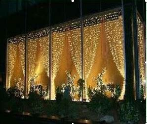 3 meter drop curtains outdoor led light curtain professional grade 2m w 3m h