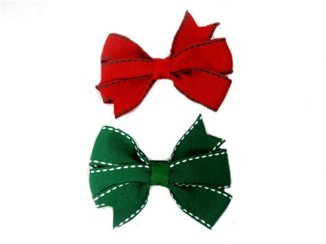 images of christmas bows christmas hairbows