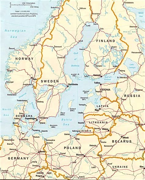 baltic sea map baltic sea region sweden denmark travel europe