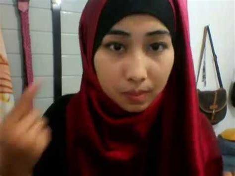 tutorial kerudung pashmina bahan licin hijab tutorial bahan satin licin pashmina bahan satin