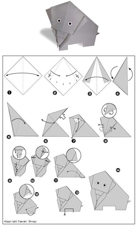 How To Make Origami Figures - easy origami figures comot