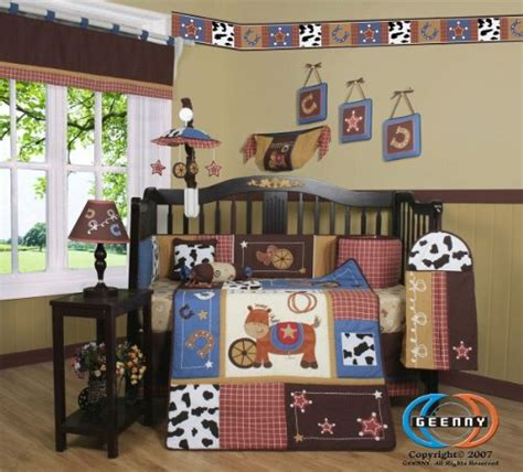 Horse Themed Bedding Infobarrel Cowboy Themed Crib Bedding