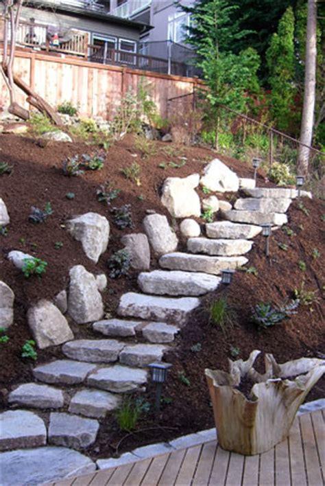 Steep Slope Garden Design Ideas Landscapers In The Seattle Area Vertumni Landscape Design And Maintenance Portfolio Steep