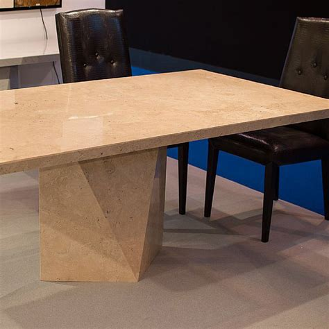Travertine Dining Table And Chairs Freya Travertine Marble Dining Table Robson Furniture