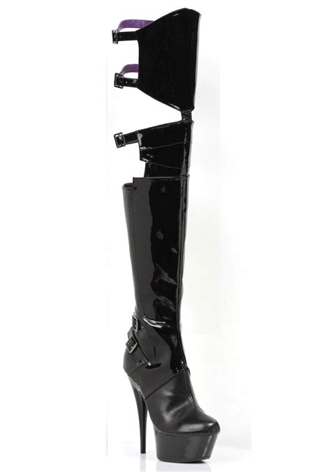thigh high boots 6 inch heels ellie shoes 609 felicia 6 inch pointed stiletto heel thigh